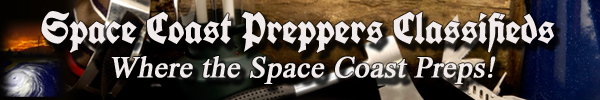 Space Coast Preppers Classifieds